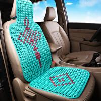 汽车坐垫夏季塑料凉垫单片车用夏天通用面包车货车座垫透气主驾驶 中国结-兰色 (3D结构)