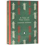 狄更斯长篇历史小说A Tale of Two Cities双城记英文原版Penguin Classics企鹅经典