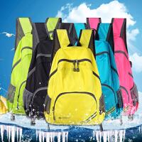户外可折叠超轻便携双肩包 男女旅行背包防水运动书包皮肤包登山包