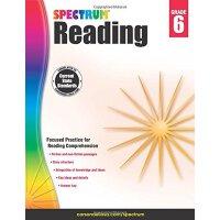 Spectrum Reading Workbook, Grade 6 英文原版 Spectrum 阅读,6年级