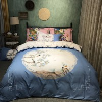 加厚全棉磨毛四件套纯棉床单被套床上用品1.5/1.8m双人保暖套件