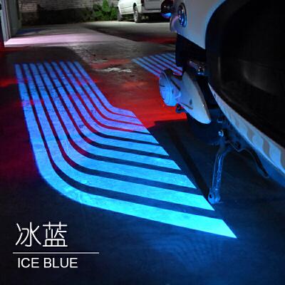摩托车车灯改装配件led装饰灯彩灯天使之翼投影灯射灯激光底盘灯SN8436