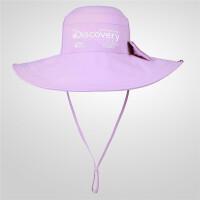 【年货节:86元】Discovery非凡探索户外春夏男女大帽檐速干帽子日常徒步EELG82174
