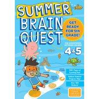 Summer Brain Quest: Between Grades 4 & 5 英文原版 Brain Quest暑假