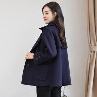 毛呢外套女2018新款流行大衣韩版秋冬季外套女短款宽松呢子外套潮