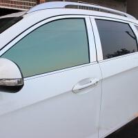 广汽传祺GS5车窗饰条 GS5车窗装饰亮条专用不锈钢 传祺GS5改装 红色 全窗18件套中柱前送胶