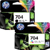 原装正品 惠普704墨盒黑色彩色HP704墨盒适用于原装惠普HP2010 HP2060 K110 打印机墨盒 CN69