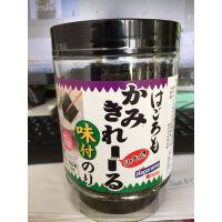日本Hagoromo紫菜片即食海苔脆片100枚/罐宝宝海苔儿童进口零食