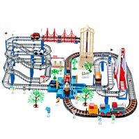 托马斯小火车套装轨道玩具男孩充电动和谐号过山车儿童礼物 抖音
