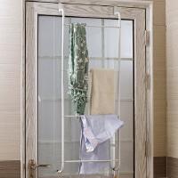 ORZ 浴室门后创意多用衣帽毛巾挂架 免钉无痕不锈铁艺衣架挂钩