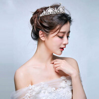新娘头饰皇冠公主饰品婚纱配饰结婚发饰首饰品 皇冠