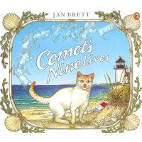 Comet's Nine Lives猫有九命(Jan Brett绘本)ISBN9780698118942