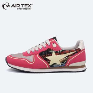 AIRTEX登山鞋女鞋减震徒步鞋防滑旅游鞋户外鞋低帮耐磨运动休闲鞋