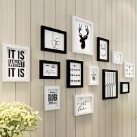 创意相册墙照片墙相框墙上背景墙壁装饰相框挂墙组合免打孔