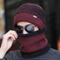 帽子男冬天毛线帽针织帽男士冬季棉帽子保暖帽潮青年