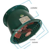 12寸高速强力管道抽风机 饭店厨房抽油烟 家用排气扇圆形换气扇