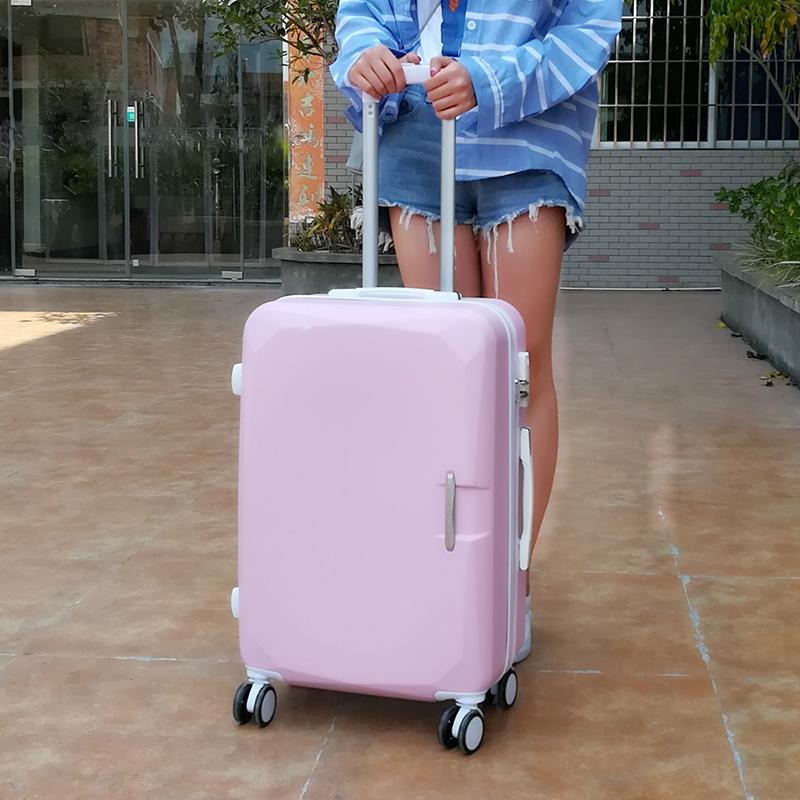 20寸少女可爱旅行皮箱24寸小清新拉杆箱女韩版26寸大学生行李箱男