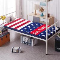 学生床垫宿舍加厚床褥子单人上下铺0.9m折叠榻榻米1米1.2米垫被