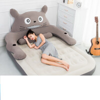 20180430193320768卡通龙猫床气垫床充气床双人家用加大单人床垫加厚户外便携气垫床