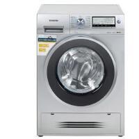 西门子(SIEMENS)WD15H5682W 8公斤 洗烘一体变频滚筒洗衣机 3D空气冷凝(银色)