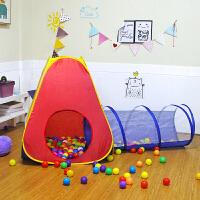 儿童帐篷室内外游戏屋公主宝宝过家家女孩折叠小房子海洋球池玩具
