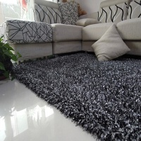 加厚榻榻米家用客厅地毯现代简约卧室床边垫茶几满铺沙发长毛地毯