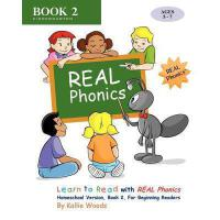 【预订】Learn to Read with Real Phonics, Book 2, Homeschool Ver