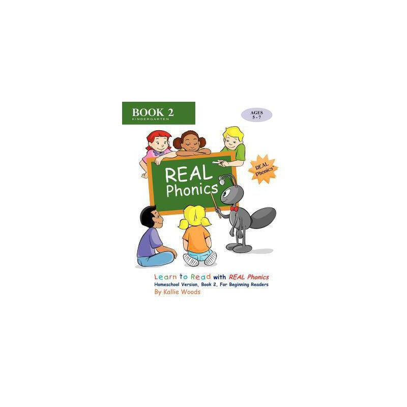 【预订】Learn to Read with Real Phonics, Book 2, Homeschool Version 美国库房发货,通常付款后3-5周到货!