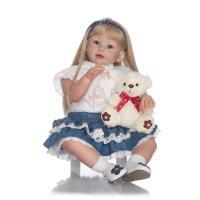 仿真周岁小女孩娃娃 童装模特 可爱道具 小孩玩具 如图 70厘米