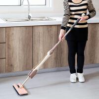 免手洗旋转平板拖把大号拖地墩布瓷砖尘推家用懒人双面木地板托把