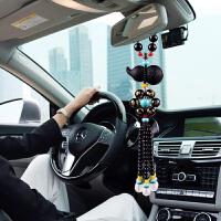 汽车挂件葫芦车内吊饰男女保平安符吊坠摆件车载后视镜挂饰品
