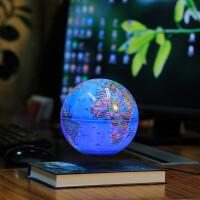 磁悬浮地球仪发光自转办公室桌面摆件永动机高科技创意工艺品礼品