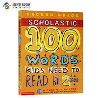 英文原版 100 Vocabulary Words Kids Need To Read By 2nd Grade 课外