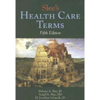 【预订】Slee's Health Care Terms 美国库房发货,通常付款后3-5周到货!
