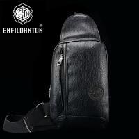 英菲丹顿 男士胸包 休闲包男斜挎包运动单肩包骑行包