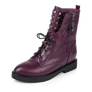 Tata/他她冬季专柜同款牛皮女靴V4047DZ5