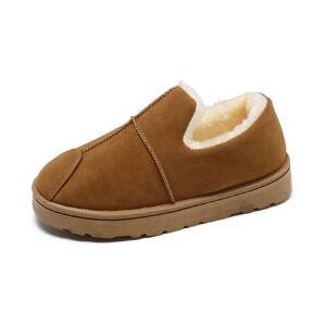WARORWAR新品YM13-333冬季休闲平底舒适女士雪地靴