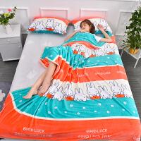 夏季珊瑚绒毯子加厚法兰绒小毛毯单人薄款床单空调午睡毛巾夏凉被
