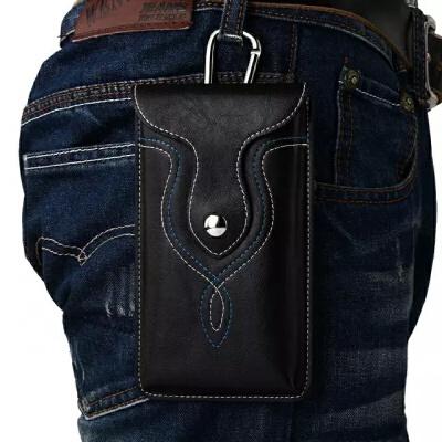 手机包腰包男穿皮带竖款5.5/6寸多功能运动腰带挂包单层皮套 发货周期:一般在付款后2-90天左右发货,具体发货时间请以与客服协商的时间为准