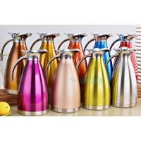 保温壶家用不锈钢欧式真空暖水壶2L保温热水瓶