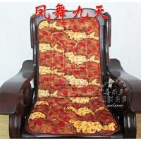 实木沙发坐垫 加厚沙发垫布艺椅子垫 单人三人连体毛绒坐垫