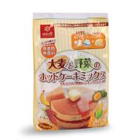 日本Hakubaku黄金大地 大麦蔬菜蛋糕粉 DIY蛋糕粉 宝宝早餐点心