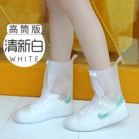 雨鞋女韩国可爱时尚高筒雨鞋套防水雨天男防雨加厚防滑耐磨