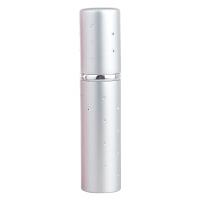 5ml 银点便携式香水分装瓶化妆品补水喷雾瓶空瓶玻璃内胆 5ml满天星拍银色送银色