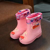 儿童雨鞋1-10岁幼儿水鞋男女童两用防滑宝宝套鞋小孩雨靴四季胶鞋