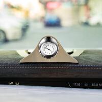 车载时钟摆件夜光车用电子表粘贴式车内钟表时间表钟石英表电子钟