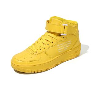 空军一号涂鸦高帮小白鞋运动休闲经典板鞋