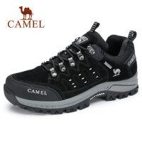 camel 骆驼2018秋冬新款潮休闲户外防滑登山鞋保暖旅游徒步运动鞋