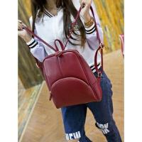 时尚妈妈女包牛皮高中中学书包双肩包韩版学院风旅行背包