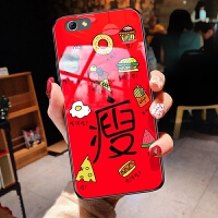 iphone8手机壳苹果7玻璃ihone8简约ipone7网红phone8个性文字sipone7情侣